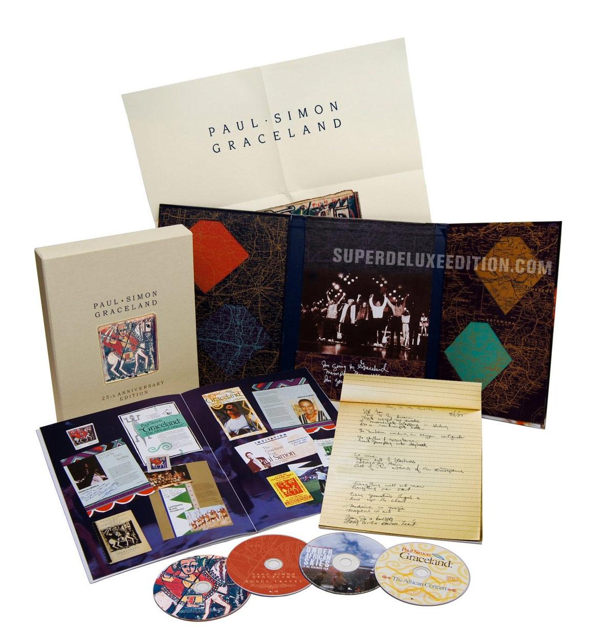 Paul Simon / Graceland 25th Anniversary Collectors Edition Box Set Photo