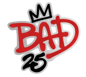 Bad 25 logo / Michael Jackson