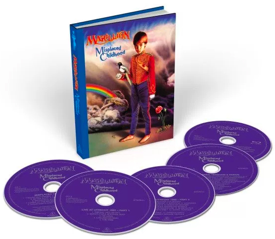 Marillion / Misplaced Childhood 5-disc deluxe edition
