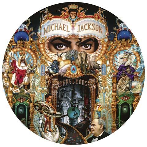 Michael Jackson / vinyl picture discs