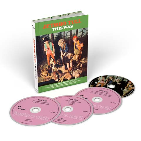 Jethro Tull / This Was 4-disc 50th anniversary edition