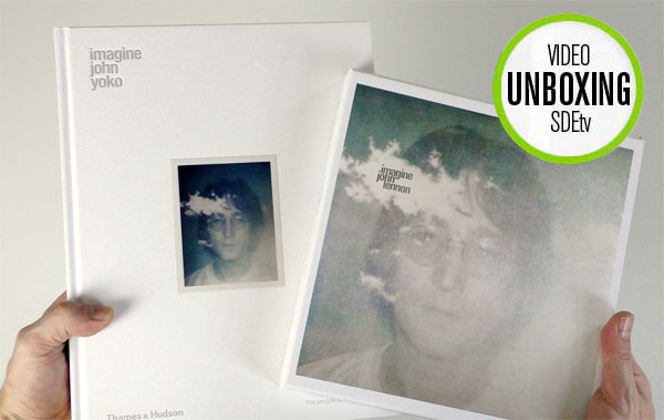 SDEtv / John Lennon: Imagine super deluxe unboxing and book comparison