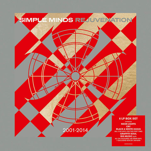 Simple Minds / Revjuvenation 2001-2014 / 6LP coloured vinyl box