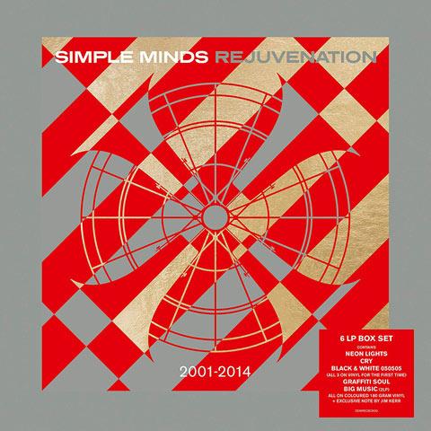 Simple Minds / Revjuvenation 2001-2014 / 6LP coloured vinyl box