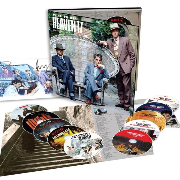 Heaven 17 / Play to Win:The Virgin Years / 10CD deluxe & 5LP vinyl box