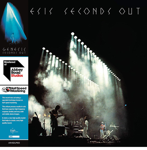 Genesis / Seconds Out half-speed mastered 2LP vinyl