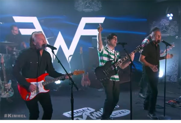 Watch Weezer perform Everybody Wants To Rule The World with Tears For Fears