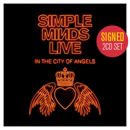 Simple Minds / Live in the City of Angels 2CD exclusive signed edition