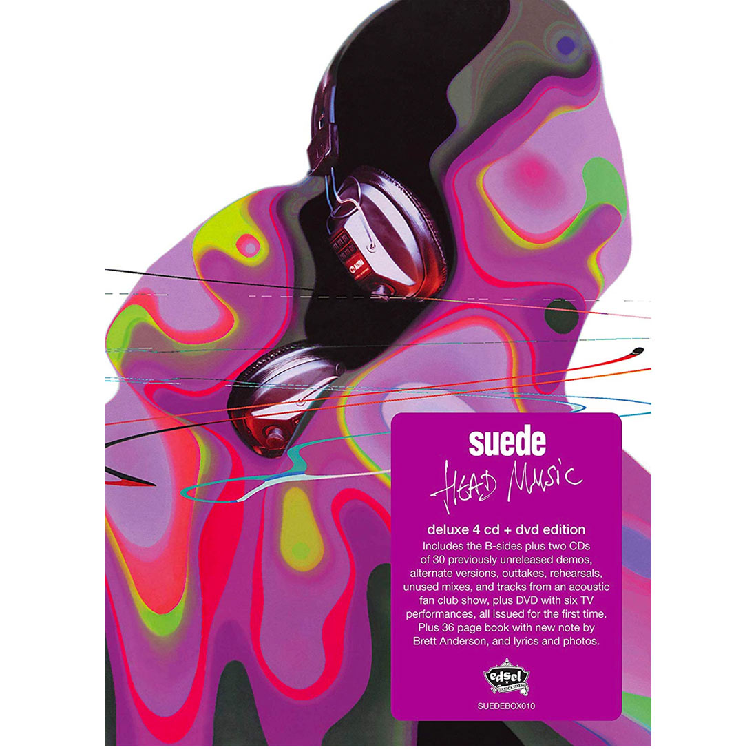 Suede / Head Music 20th anniversary 4CD+DVD