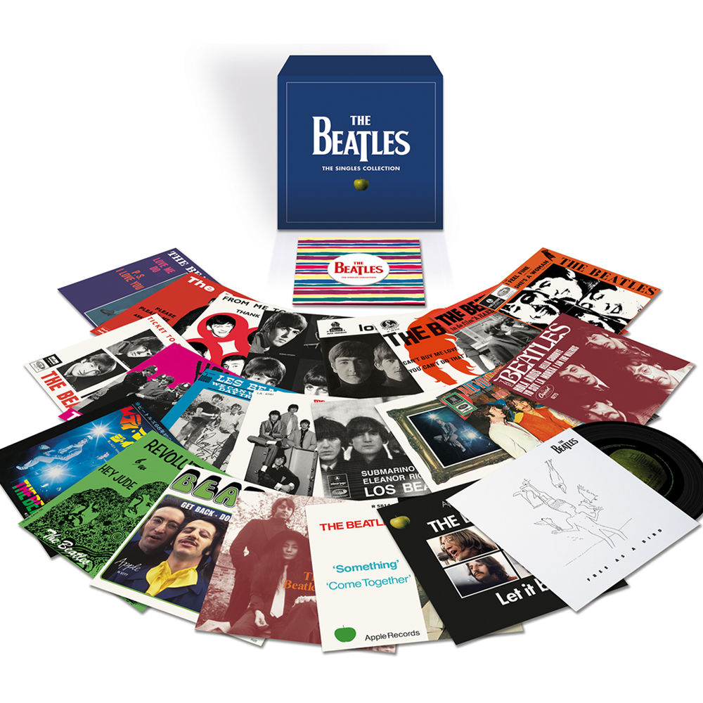 The Beatles / The Singles Collection seven-inch box set