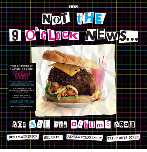 Not the Nine O'Clock News / Not All The Albums Again 4LP coloured vinyl box