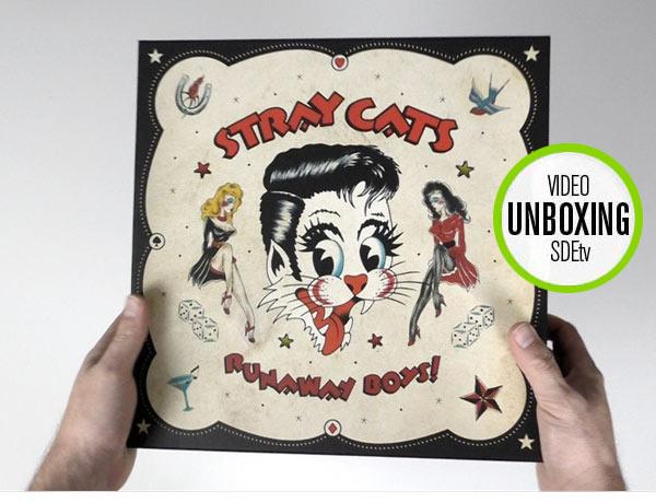 Stray Cats / Runaway Boys vinyl box