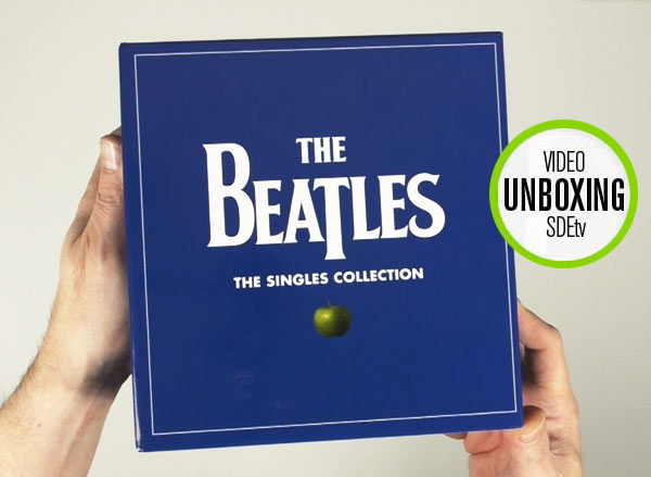 The Beatles / Singles Collection unboxing video