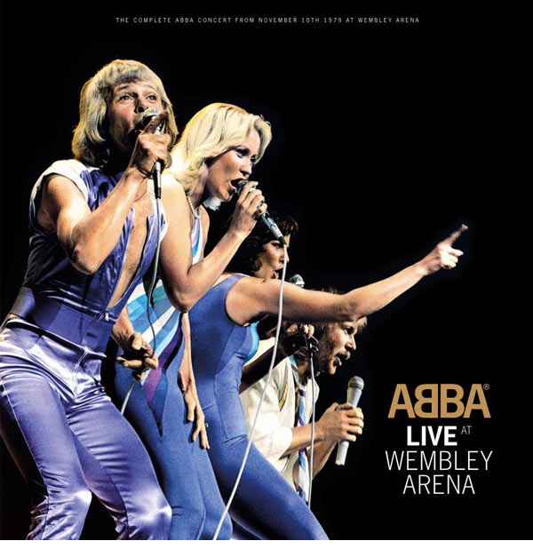 ABBA / Live at Wembley 3LP vinyl
