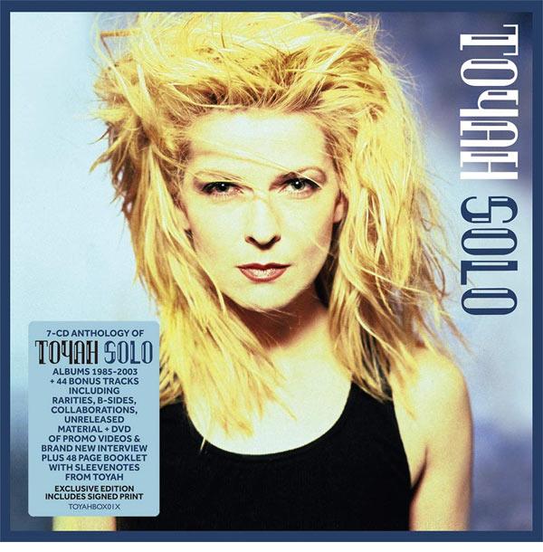 Toyah Solo 7CD+DVD box set