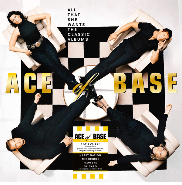 Ace of Base / All That She Wants: The Classic Albums 4LP coloured vinyl box set