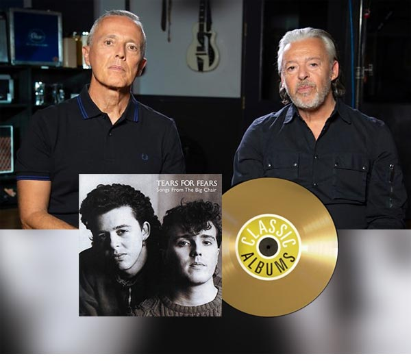 Tears For Fears Classic Album documentary to be shown on BBC 4 on Friday 14th February 2020