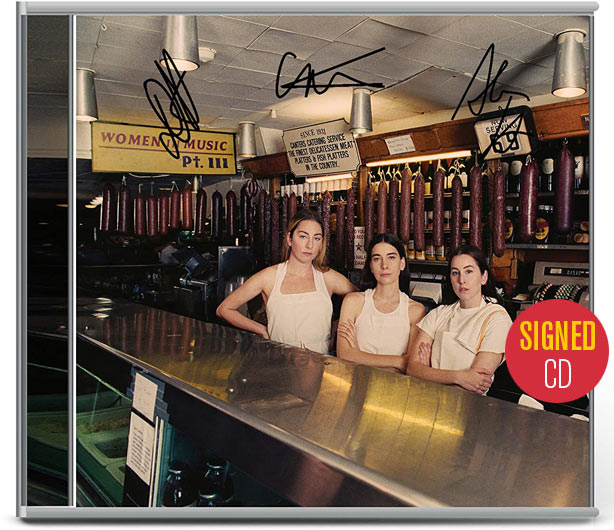 Haim / Women in Music Pt III signed CD