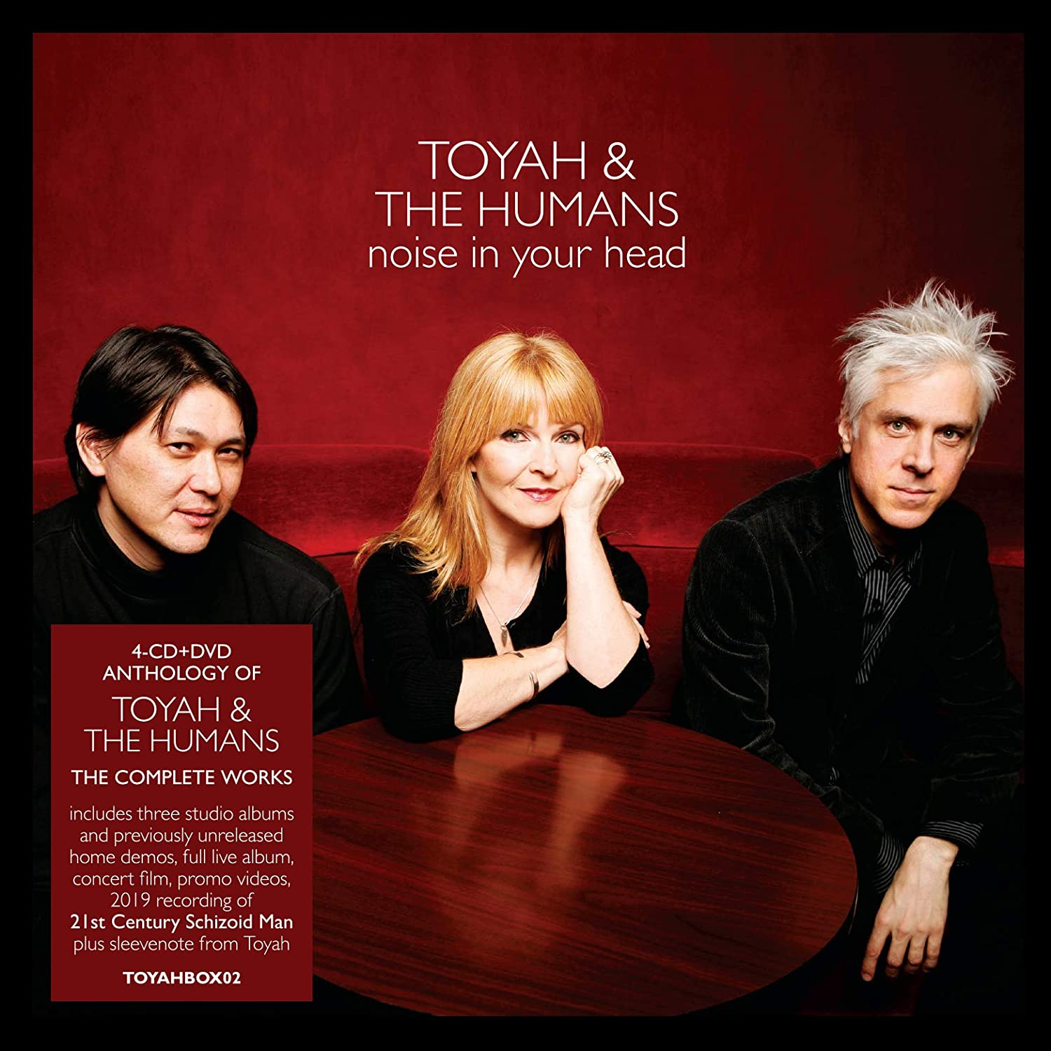 Toyah & The Humans / Noise in Your Head 4CD+DVD anthology signed