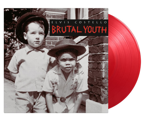 Elvis Costello / Brutal Youth 2LP red vinyl