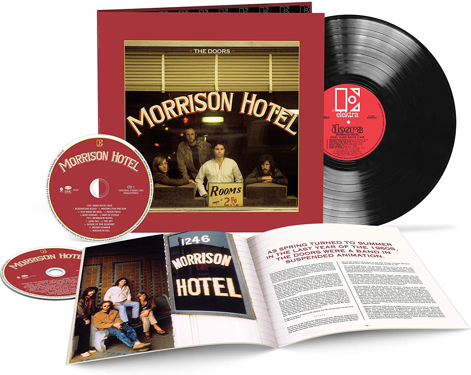 The Doors / Morrison Hotel 50th anniversary
