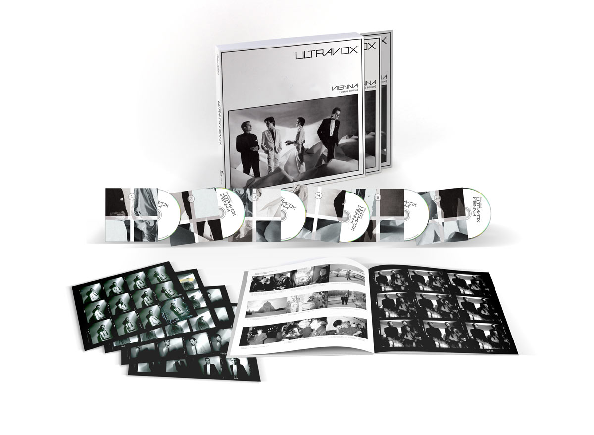 Ultravox / Vienna 40th anniversary 5CD+DVD box set