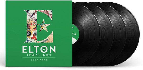 Elton John / Elton: Jewel Box: Deep Cuts 4LP vinyl