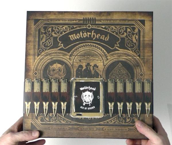 Motörhead / Ace of Spades 40th anniversary box set unboxing video