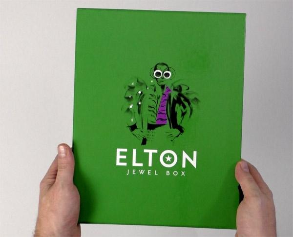 Elton John / Jewel Box unboxing video