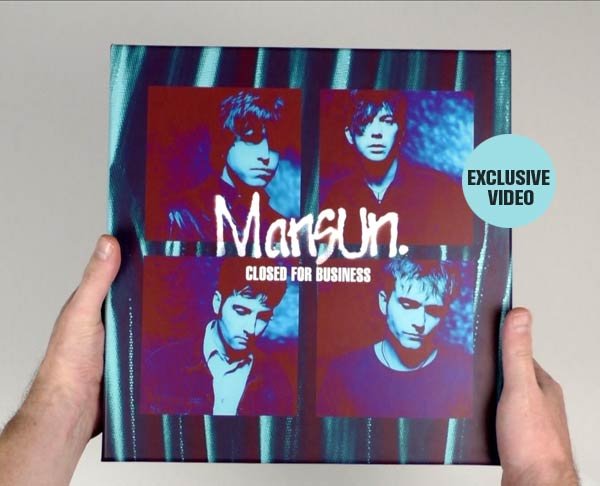 Mansun / Closed For Business 25-disc box set