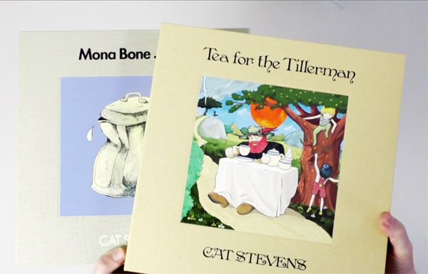 Cat Stevens / Mona Bone Jakon and Tea For The Tillerman unboxing video