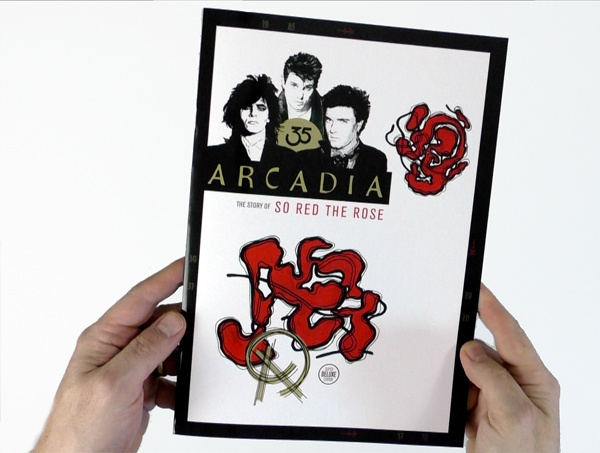 Take a look at SDE's ARCADIA: The Story of So Red The Rose booklet