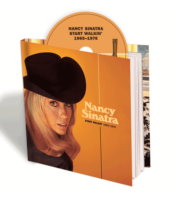 Nancy Sinatra/ Start Walkin' 1965-1976 deluxe CD edition
