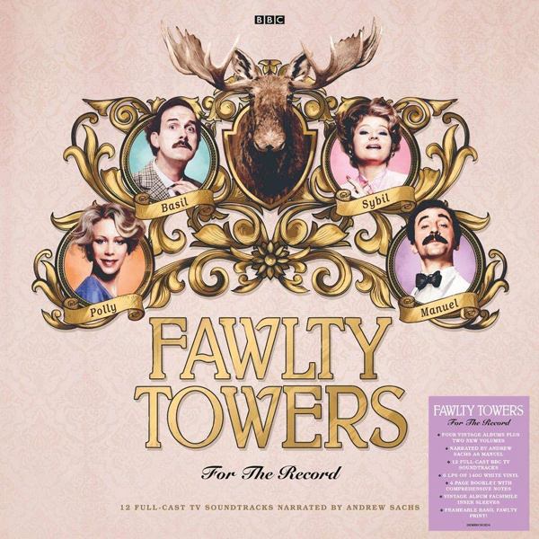 Fawlty Towers / For The Record 6LP white vinyl signed by John Cleese