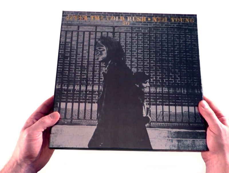 Neil Young / After The Gold Rush 50th anniversary vinyl unboxing video