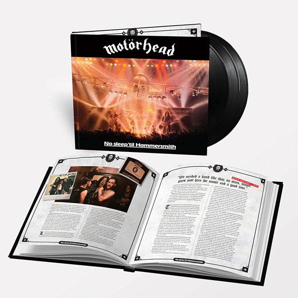 Motorhead / No Sleep Til Hammersmith 3LP 40th anniversary vinyl edition