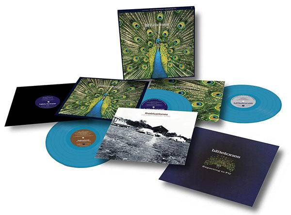 The Bluetones / Expecting to Fly 3LP blue vinyl box with Amazon-exclusive bonus 12-inch