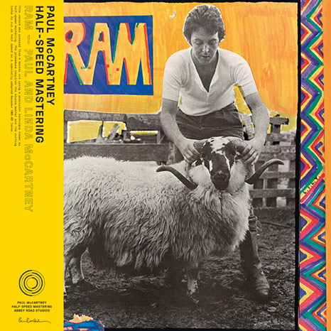 Paul and Linda McCartney / RAM 50th anniversary half-speed master