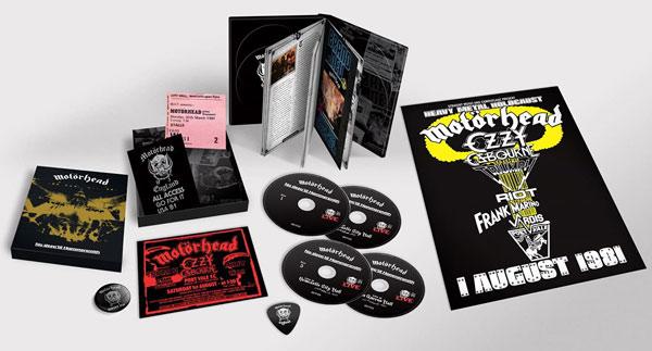 Motorhead / No Sleep 'Til Hammersmith 4CD 40th anniversary edition
