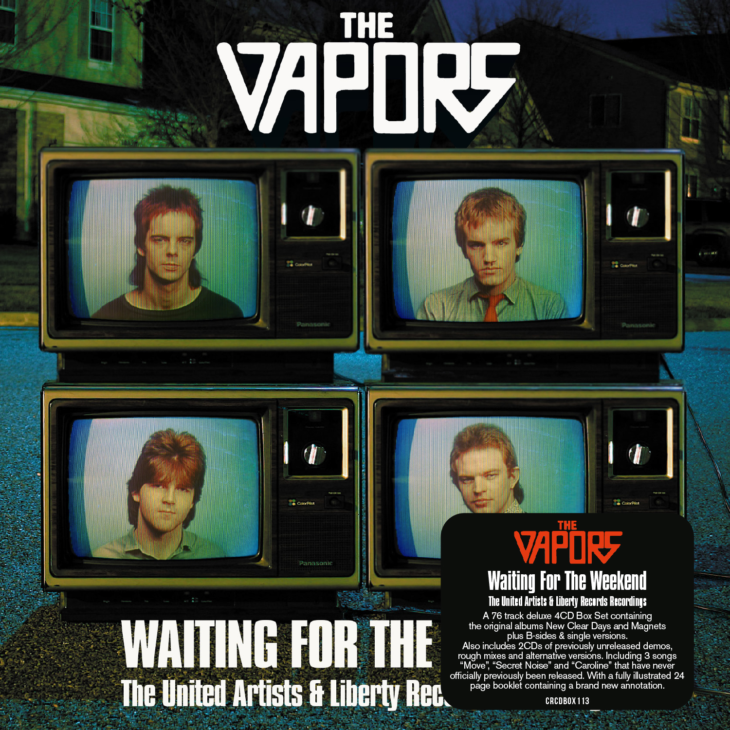 The Vapors / Waiting for the Weekend: The United Artists & Liberty Recordings