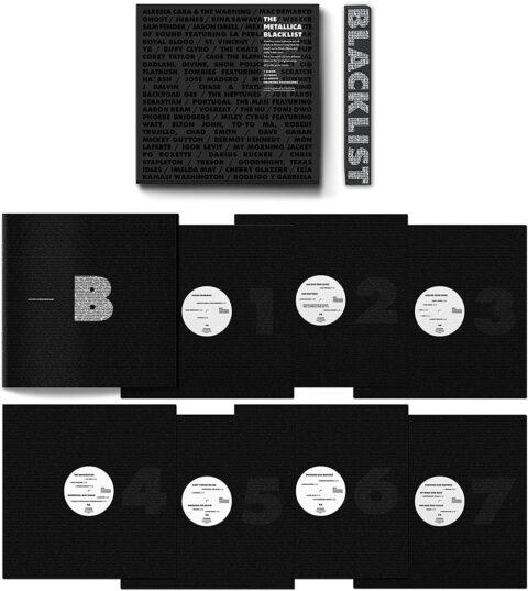 The Metallica Blacklist - 4CD or 7LP vinyl box set