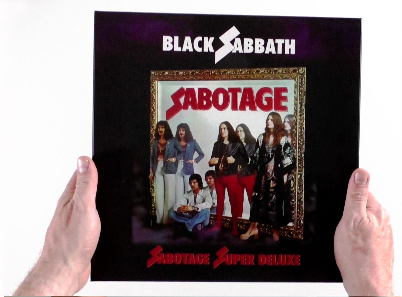 Black Sabbath / Sabotage 4LP vinyl unboxing video
