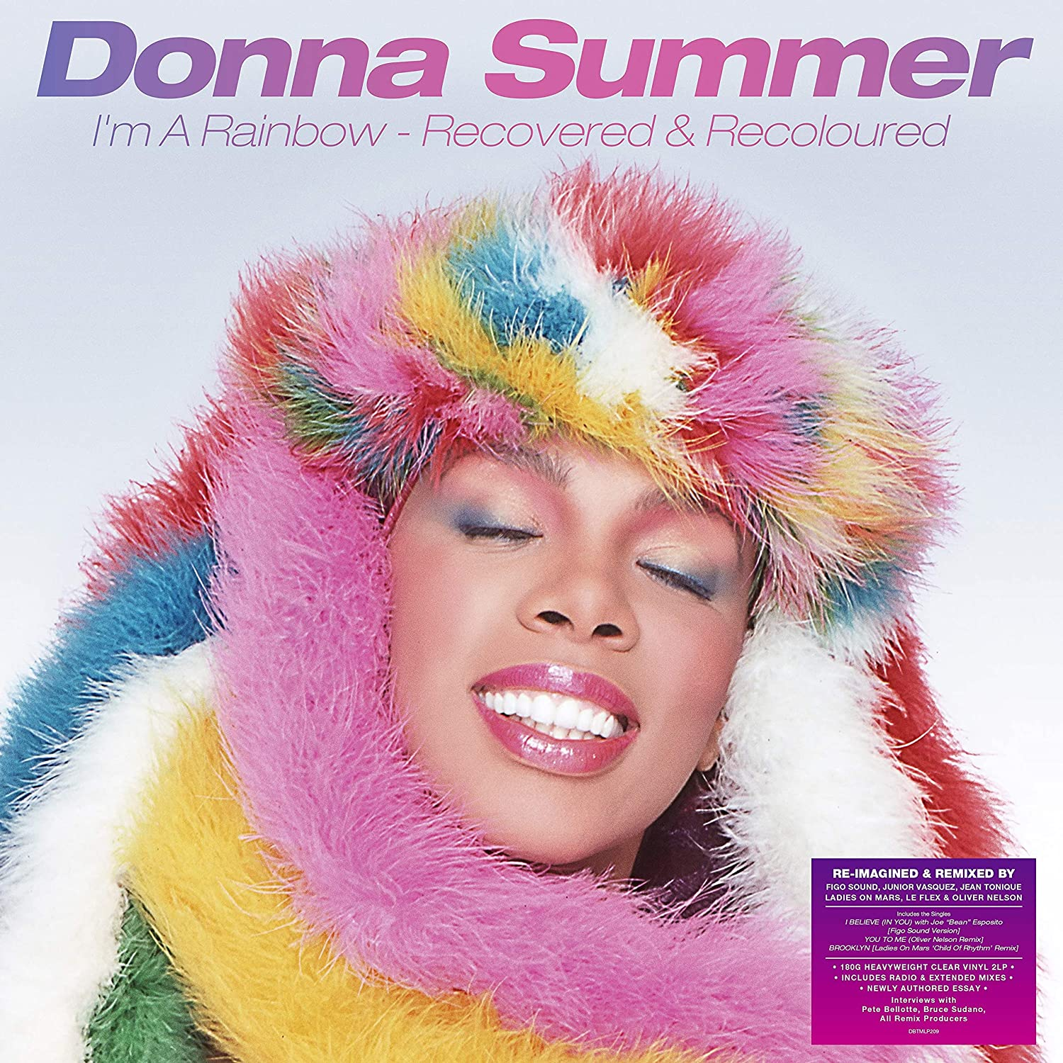 Donna Summer / I'm A Rainbow: Recovered & Recoloured 2LP and CD reissue