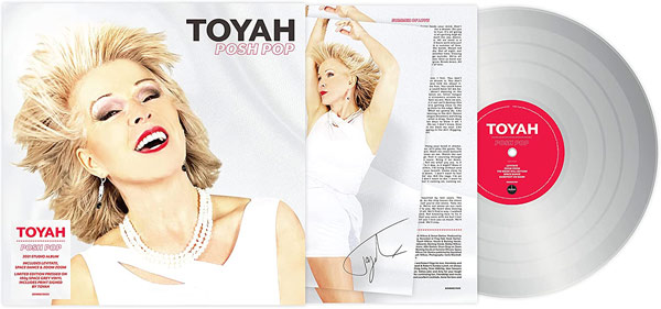 Toyah / New album 'Posh Pop' on space grey vinyl with limited edition signed print