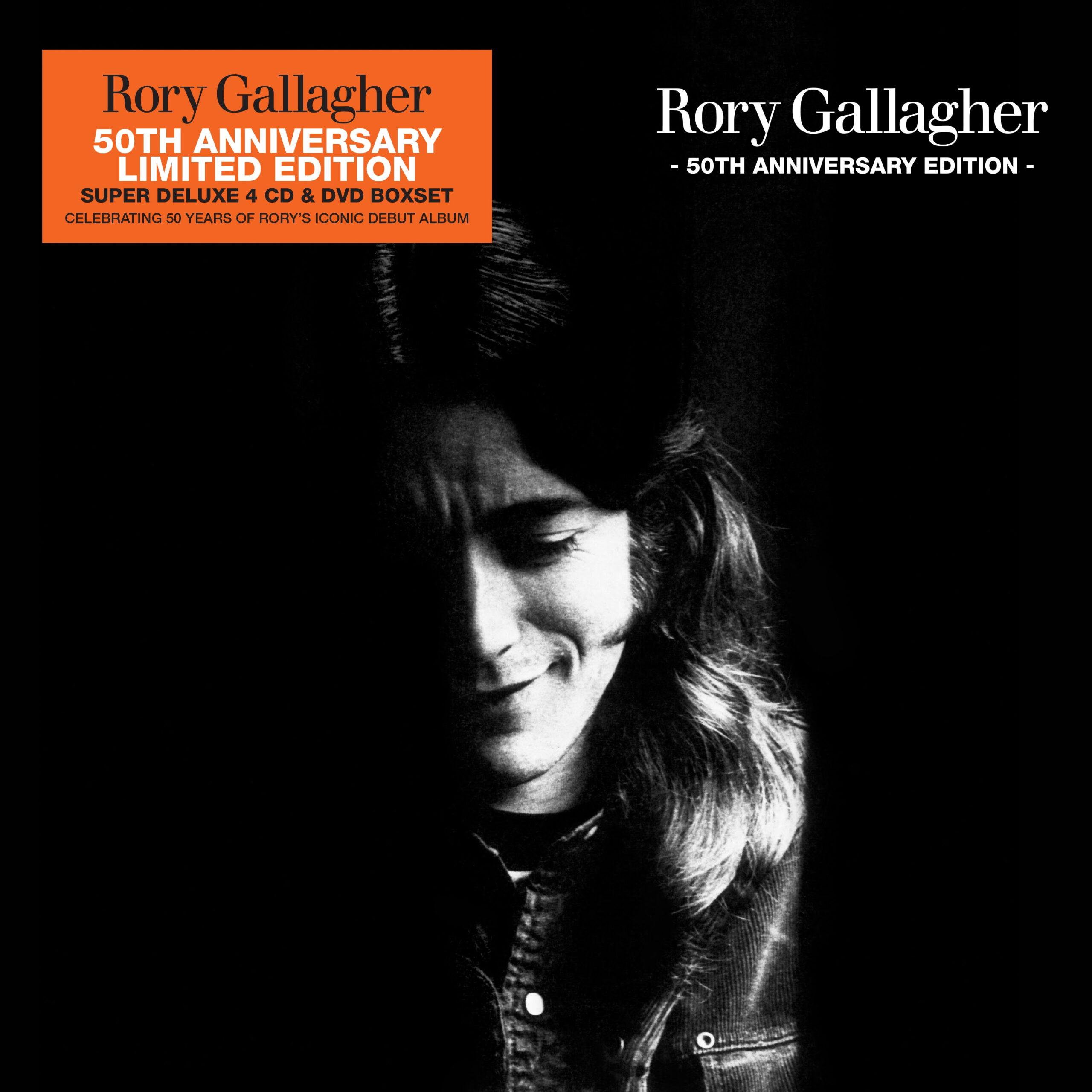 Rory Gallagher 50th anniversary 4CD+DVD box set