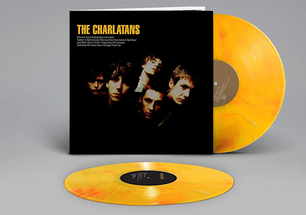 The Charlatans / 2LP yellow vinyl reissue