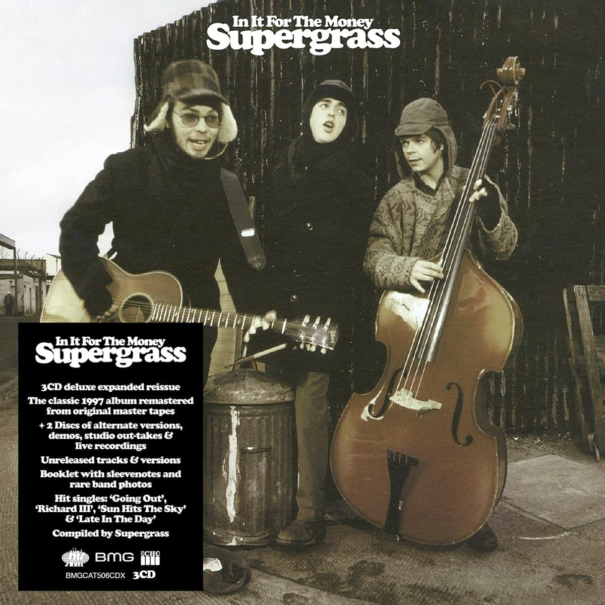 Supergrass / In It For The Money 3CD remastered and expanded reissue