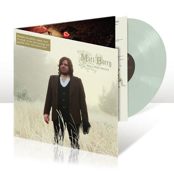Matt Berry / Kill The Wolf bottle-green coloured vinyl LP