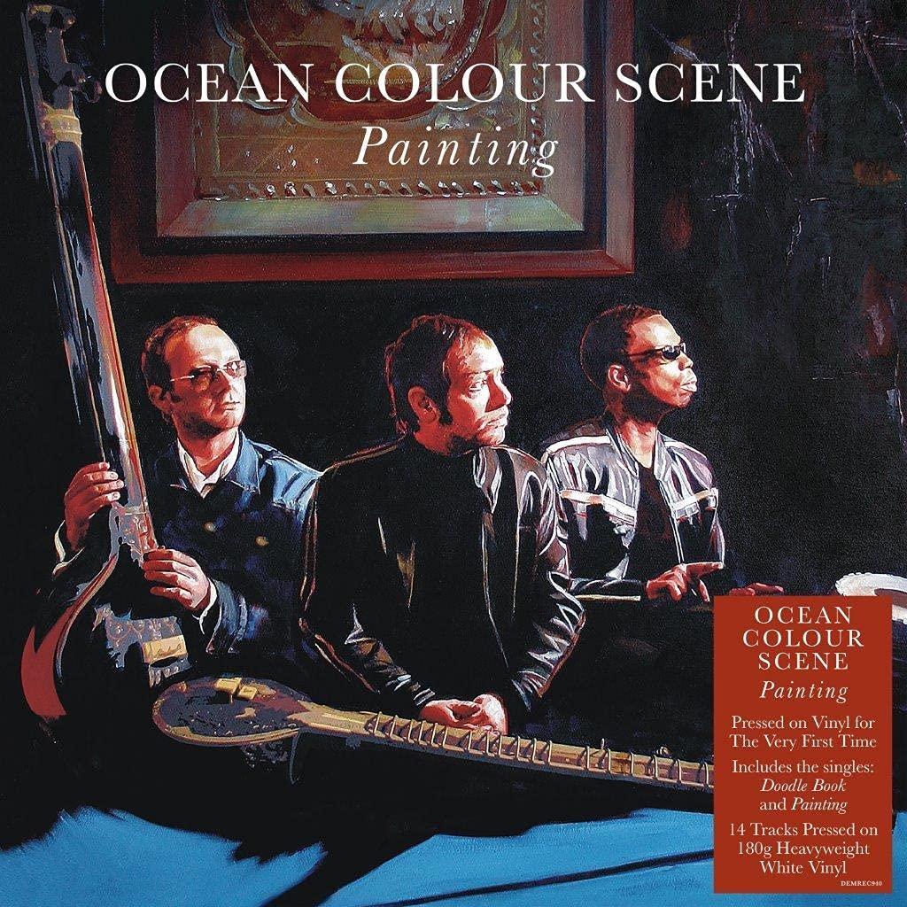 Ocean Colour Scene / Painting white vinyl
