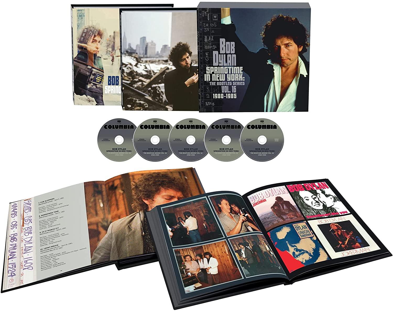 Bob Dylan / Springtime in New York: The Bootleg Series, Vol. 16 / 1980-1985  – SuperDeluxeEdition